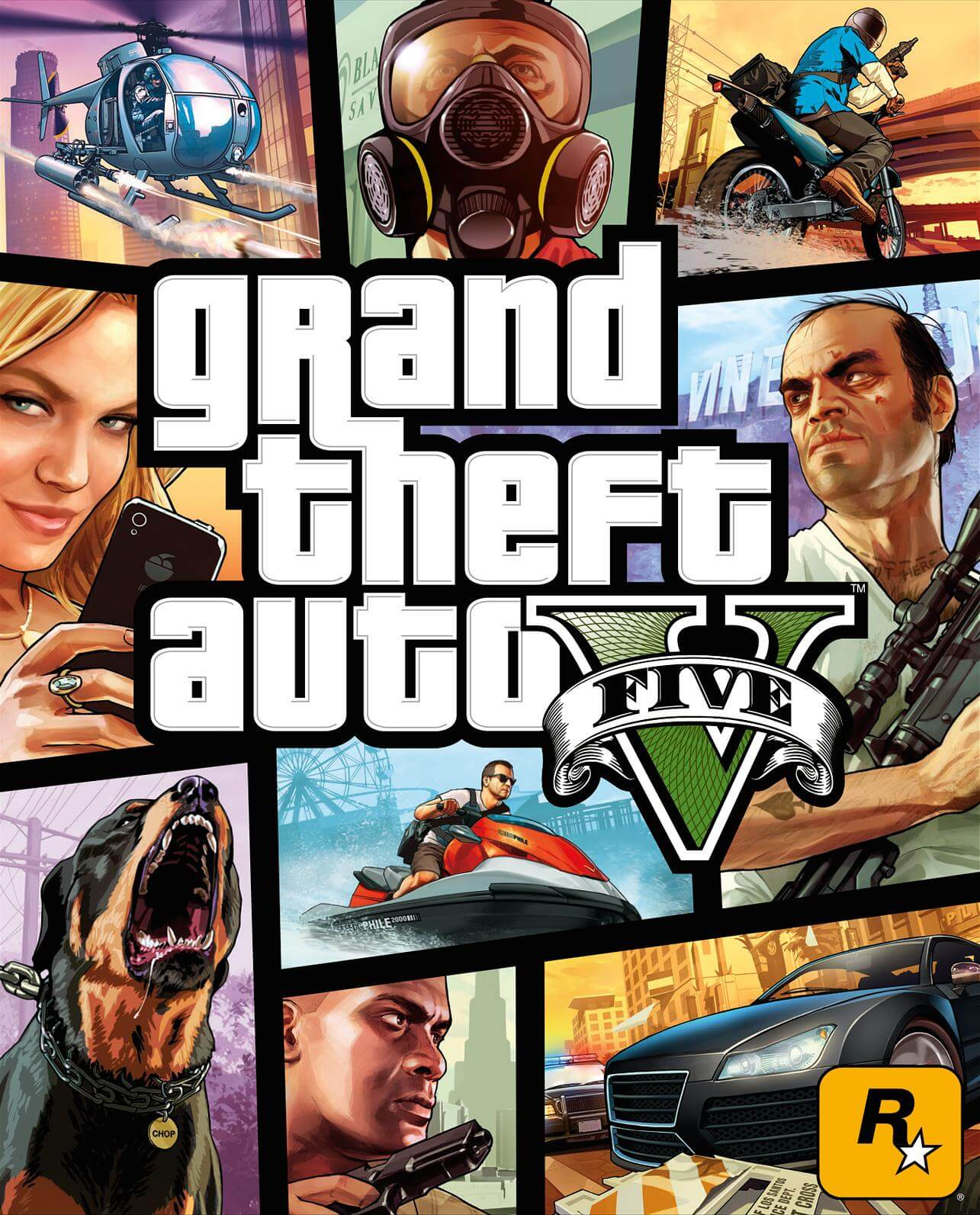 GTA V v4 Crack Free Download For PC (3DM)