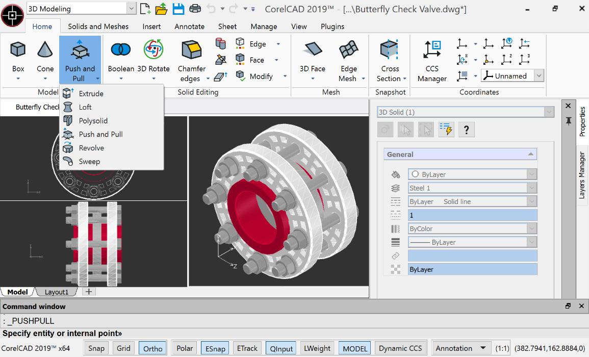 What is new in CorelCAD