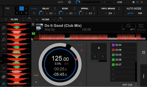 Rekordbox DJ Screenshot